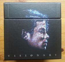 Michael Jackson Visionary BOX komplett !! NEUWERTIG DualDisc Single CD DVD RAR