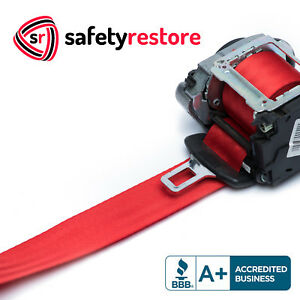 FOR TOYOTA HIGHLANDER FERRARI RED SEAT BELT WEBBING REPLACEMENT SEATBELT HARNESS