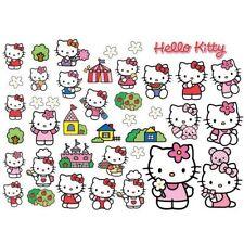 Stickers muraux Hello Kitty pour enfant
