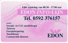 Telefoonkaart / Phonecard Nederland CRE257 ongebruikt - Edon Info-Lijn