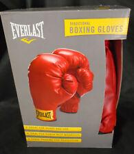 EVERLAST Boxing Gloves Everhide Elastic Cuff 14 oz Model 2964T Red