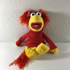 """Fraggle Rock Muppet Red Plush Jim Henson 2006 Sababa Toys Stuffed Animal 15"""""""