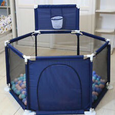 New Safe Baby Playpen Portable Play Yard Indoor Outdoor Ball Pit Baby Play Fence