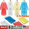 Disposable Adult Emergency Waterproof Rain Coat Poncho for Hiking Camping Hood