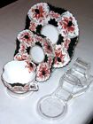 1 CUP, SAUCER AND PLATE DISPLAY STAND -AUSTRALIAN MADE- CLEAR