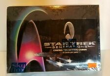 Star Trek Generations Cinema Movie Collector Trading Unopened Pack Box Skybox