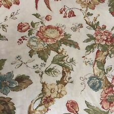 Pottery Barn Organic Cotton Duvet King Size Floral Butterflies