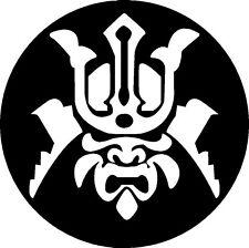 Samurai Warrior vinyl decal sticker