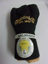 Martin Logo T-Shirt/Hat Mens Tee Shirt Cap Combo Black/Old gold Large NEW