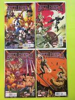 Secret Wars: Battleworld #1-4 Marvel NM 9.4