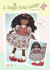 ROSIE - Rag Doll Sewing Craft PATTERN - Shabby Chic