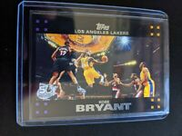 Kobe Bryant Topps 2007-08 50th Anniversary Black Border #24 LA Lakers Mint QTY