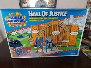 KENNER SUPER POWERS HALL OF JUSTICE MINT IN SEALED BOX AFA WORTHY NEAR MINT+++