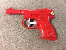 1960s PARK PLASTICS Vintage P-38 Squirt Gun Toy Water Pistol USA Red