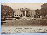1907 White House Postcard Photograph Washington DC Vintage
