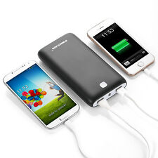 20000mAh 2 USB Portable External Power Bank Battery Charger Pack For Cell Phone