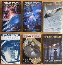 Star Trek Stargazer : Novel Collection Book 1 2 3 4 5 6 by Michael Jan Friedman