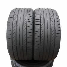 2 x Summer Tyre Continental 255/40 R18 Sport Contact 5 Ssr 95Y Run Flat Sale
