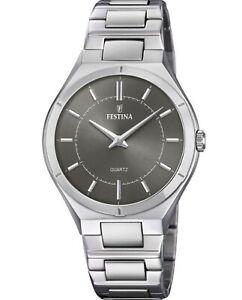 New FESTINA Men's Elegance Watch Steel F20244/3
