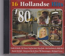 16 Hollandse Hits-80 Vol 2 cd album
