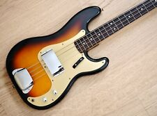 1992 Fender Precision Bass '59 Vintage Reissue Sunburst Gold Guard Japan MIJ