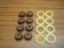 Set of eight Fuel Injector Pintle Caps & Spacers For 1985 - 1986 Camaro IROC TPI
