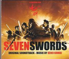 SEVEN SWORDS - KENJI KAWAI CD OST SOUNDTRACK SCORE TOP RARE OOP
