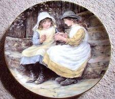 Wedgwood England porcelain plate,Yesterdays child