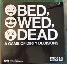 BED, WED, DEAD CARD GAME IDW PUBLISHING NEW