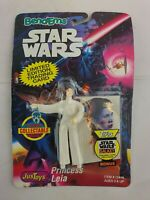 Star Wars - Bendems - Princess Leia - Toy + Trading Card - New & Sealed - VGC