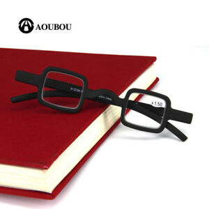 Readers Mens Womens Vintage Small Square Round Reading Glasses Eyeglasses
