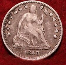 1858 Philadelphia Mint Silver Seated Half Dime