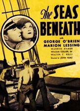 SEAS BENEATH, 1931, JOHN FORD, George O'Brien submarine drama: DVD-R Region 2