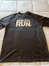 Men's Size Large L Under Armour Ua Athletic Graphic Casual T-Shirt Shirt Top