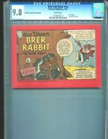 Kite Fun Book NN Brer Rabbit CGC 9.8 White pages Promotional RARE!! 1955 PG&E