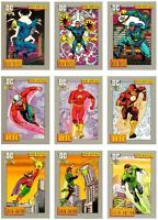 DC COSMIC CARDS COMPLETE 180 COMIC TRADING CARD SET IMPEL 1992