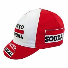 Lotto Soudal Cycling Cap 2015  with Hansen Valls