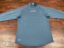 Nike Men's Blue Blue Long Sleeve Shirt Size Medium Regular