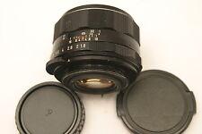 Pentax Super Takumar 55mm F1.8 lens.  M42 screw fit