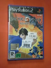 PS2 GIOCO-PER PLAYSTATION 2- JACKIE CHAN ADVENTURES- sigillato- IN ITALIANO