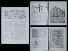 LA CONSTRUCTION MODERNE - n°21 - 1909 - MONACO, DE BAUDOT