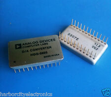 HDG-0805 ANALOG DEVICE DIGITAL TO ANALOG CONVERTER 24 PIN DIP GOLD
