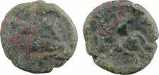 Bellovaques, bronze au personnage agenouillé et cheval - 48