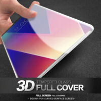 LG V30 Full Cover Screen Protector 3D Curved 9H Tempered Glass Film