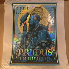 Primus 10/62021 Richmond VA Alex Zablotsky SILVER FOIL Rainbow Signed #'d Poster