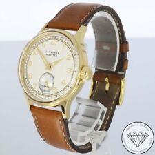 Junghans Meister Stahl Vergoldet 33mm Unisex Handaufzug Armband Uhr xxyy