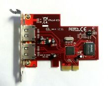 StarTech PEXESATA2 2 Port PCI Express eSATA Card Adds eSATA Ports Half Height
