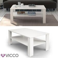 VICCO Couchtisch 60x100 cm Wohnzimmertisch Beistelltisch Kaffetisch Holztisch