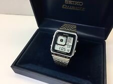 SEIKO G757-4000 LC Quartz LCD Digital watch - James Bond Rare uhr MOT