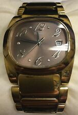 Tissot Gold-Toned Stainless Steel Women's T-Moments T009.310 Watch